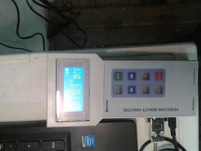 Измерение качества дизельного топлива и масла анализатором качества нефтепродуктов SHTOX300